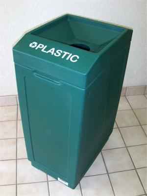 Open Top Plastic Recycling Bin 8001839